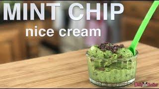 Recipe: http://thebettyrocker.com/peppermint-chip-nice-cream/ A hea...
