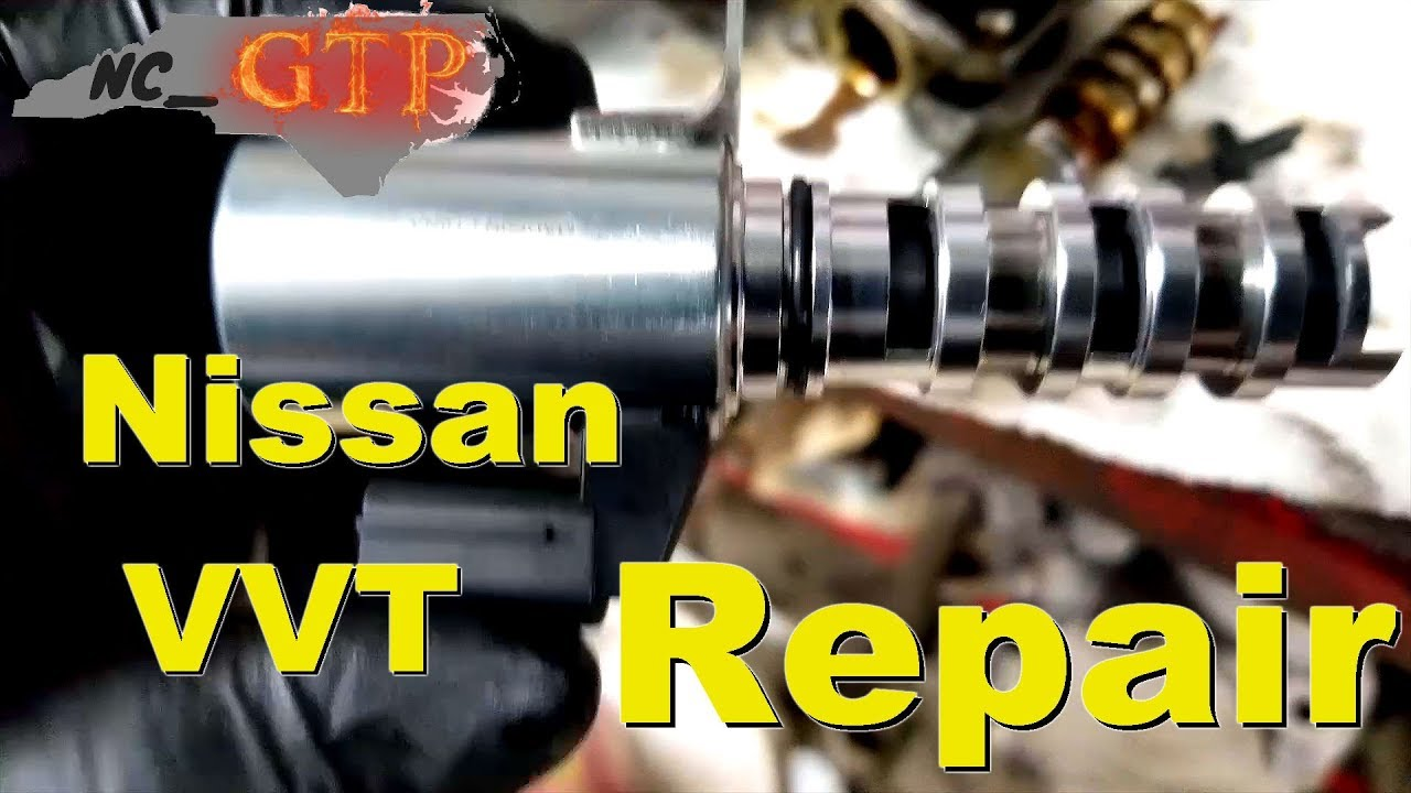 Nissan Maxima Variable Valve Timing Solenoid Replacement ... | 1280 x 720 jpeg 123kB