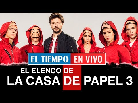 En exclusiva: el elenco de la Casa de papel revela detalles de la tercera temporada