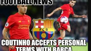 Football News - Coutinho Agrees Personal Terms with Barcelona