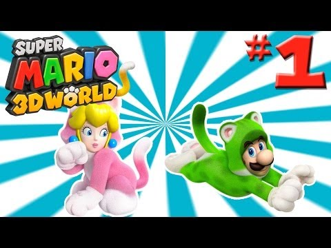 """Super Mario 3D World Ep. 1 - """"Toad's Got Great Tits!""""(Target's Girlfriend Plays)"""