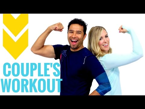 Couple Workout | THE BEST Partner Workout Ideas!