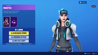 Fortnite Item Shop *New* FREESTYLE Outfit! (August 23, 2019)