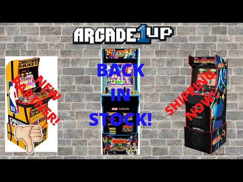 Arcade1up: New NBA Jam Collaboration! Midway Legacy Released! Marvel vs Capcom back in stock! from PsykoGamer