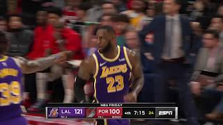 Portland Trail Blazers vs Los Angeles Lakers | December 6,2019