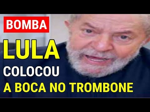 Lula SE CANSA e coloca a BOCA NO TROMBONE em entrevista com DECLARAÇÕES chocantes
