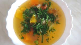 Рецепт приготовления суп -  Шурпа. Узбекская кухня.