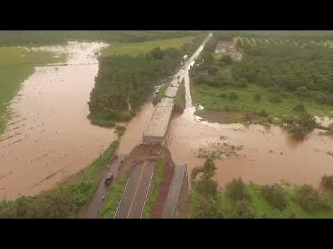 "En Rosario cinco comunidades se quedaron incomunicadas debido a las lluvias ocasionadas por ""Ivo"""