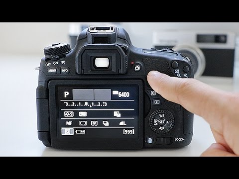 Canon T6i/T6s User Guide Training Tutorial: Basic Controls & Buttons