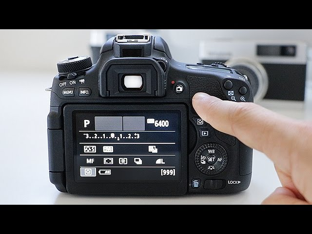 Canon T6i T6s User Guide Training Tutorial Basic Controls Buttons Youtube