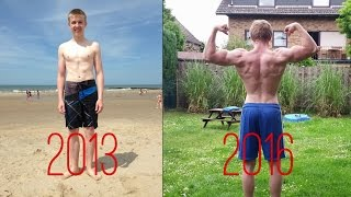 Insane 2 Year Transformation Street Workout