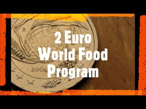 2 Euro World Food Program 2004 Italy Youtube