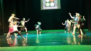 """Брейк-данс продолжающие Mortal Combat (отчётный танцевальный концерт  """"Фильм-Фильм-Фильм"""")"""