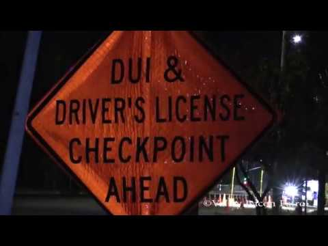 LAPD Accountability Checkpoint - Chatsworth CA
