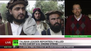 US drone strike kills Pakistani Taliban head