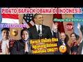 PIDATO BARACK OBAMA DI UNIVERSITAS INDONESIA BELIAU PERNAH TINGGAL DI INDONESIA|MALAYSIA🇲🇾 REACTION