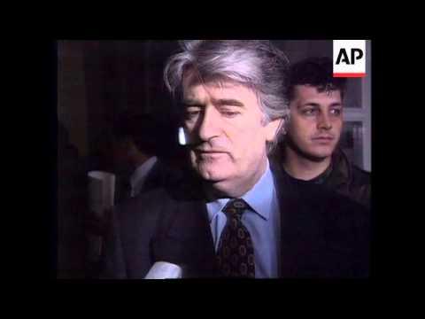 BOSNIA: BOSNIAN SERB LEADER RADOVAN KARADZIC INTERVIEW