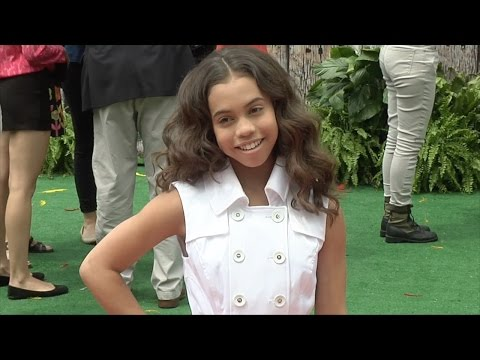 "Asia Monet Ray ""The Angry Birds Movie"" Los Angeles Premiere Red Carpet"