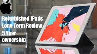 Gambar cover Are Apple Refurbished iPads worth it? 5 Year long term review - iPad Air 2