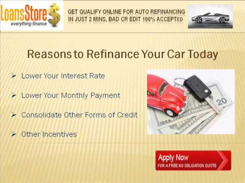 What Does Refinancing A Car Do >> What Does Refinance Your Car Mean Youtube