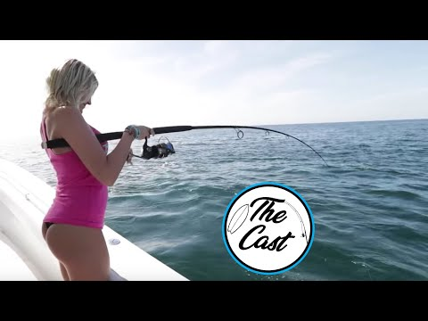 Girls First Time Fishing: For Snapper Off The East Coast Of Florida, With Back To Blue Adventure