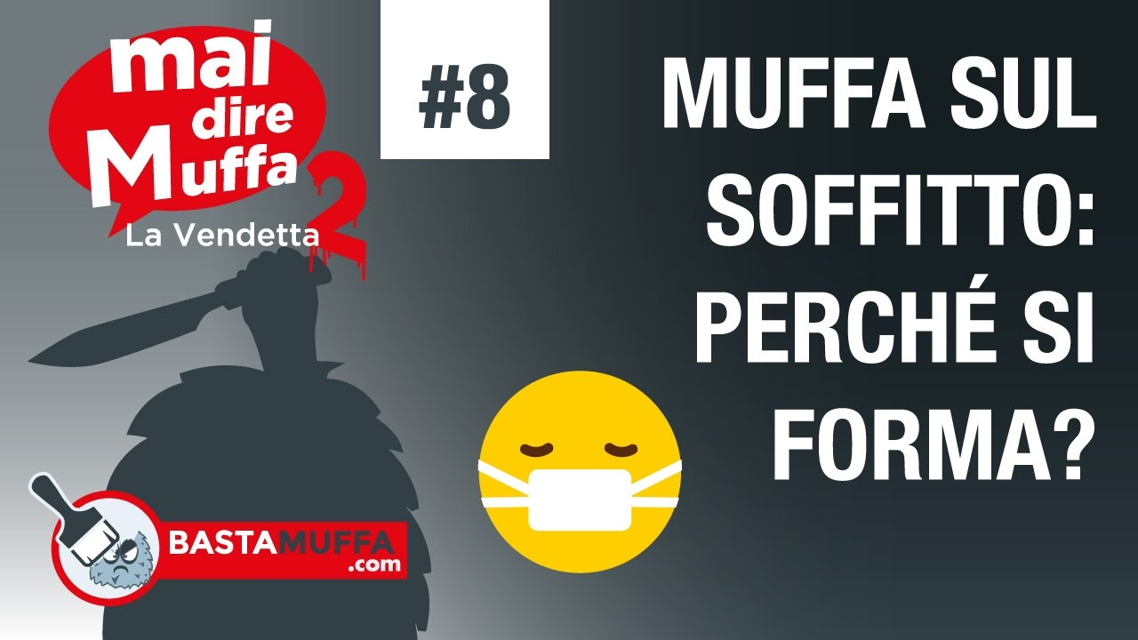 Muffa sul soffitto perch si forma youtube - Perche si forma la muffa in casa ...