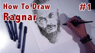 How to Scribble #2 Drawing Ragnar Lodbrok part 1 by Gus Romano