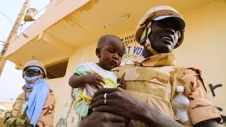 Peacekeeping in Mali, Central African Republic and Haiti. Courage, schools and songs thumbnail