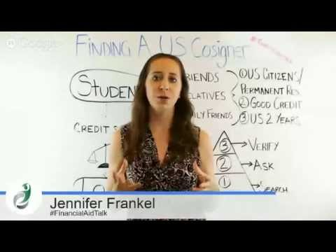 Finding a Cosigner for Your Student Loan