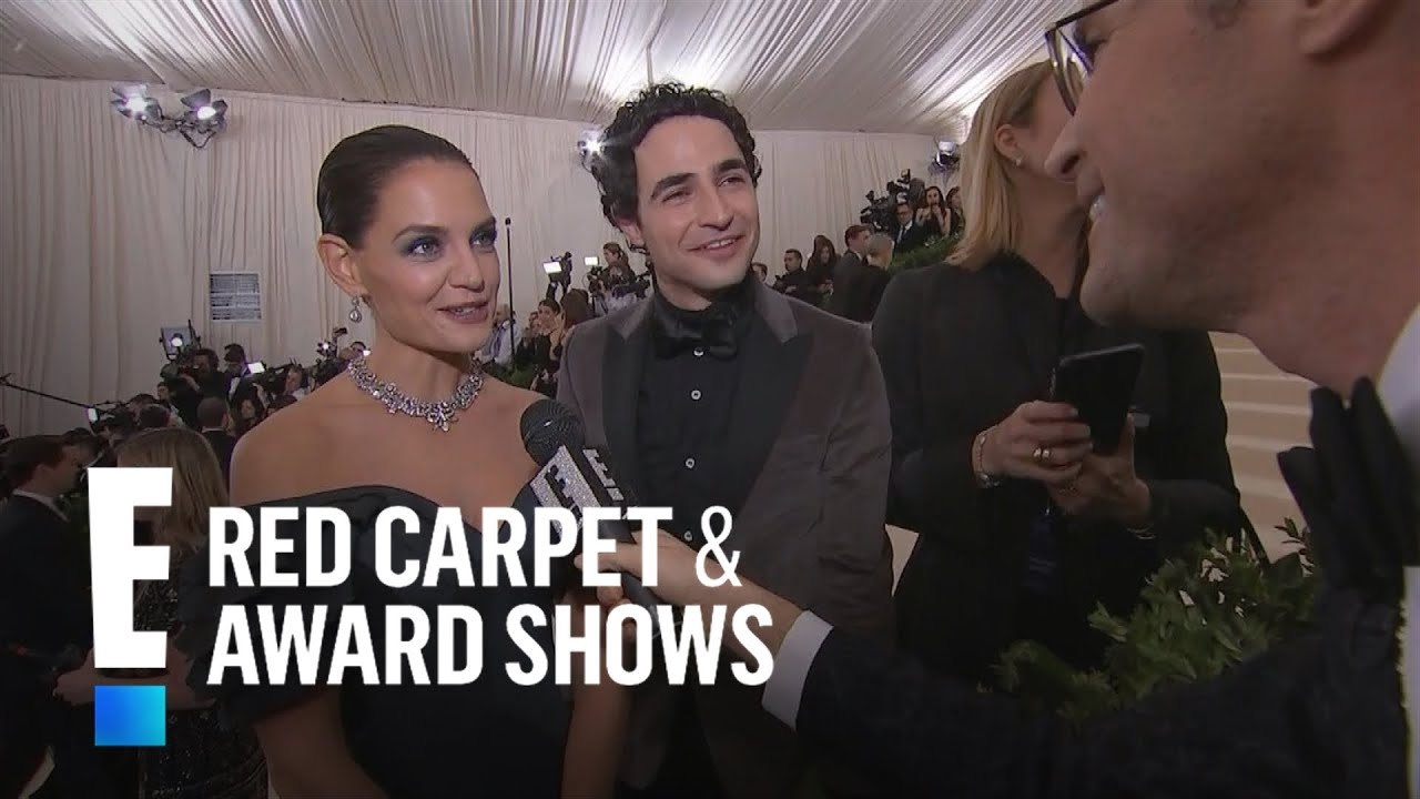 Katie holmes reveals inspiration for 2017 met gala look e red carpet award shows youtube - Watch e red carpet online ...