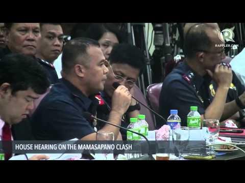 SAF's Supt Mangahis refutes AFP's Col del Rosario's claim that SAF weren't able to give coordinates