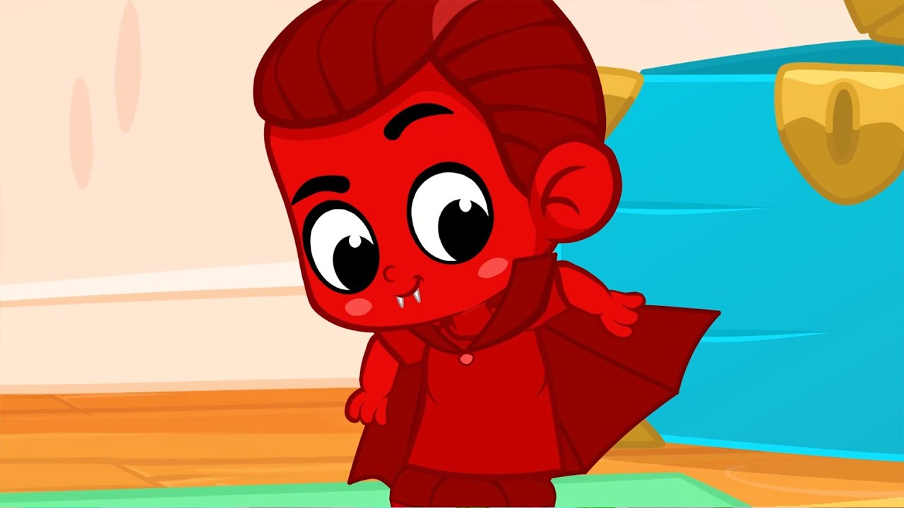 Morphle the Vampire! - My Magic Pet Morphle | Cartoons For Kids | Morphle's Magic Universe