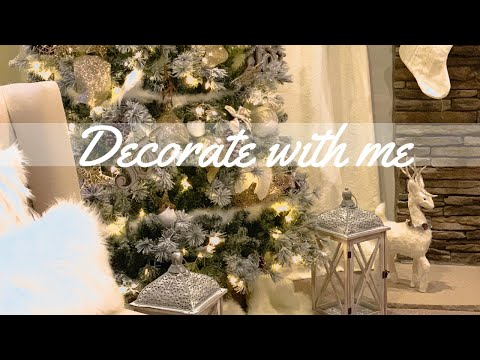 CHRISTMAS DECORATE MY TREE WITH ME 2018 | FARMHOUSE GLAM | DECOR INSPIRATION