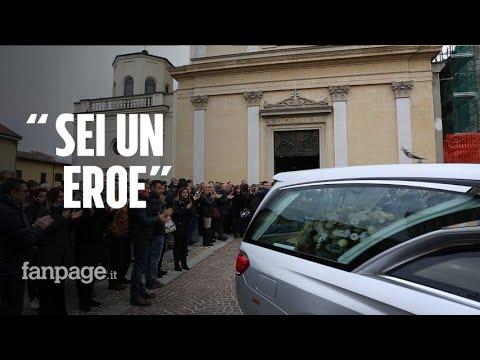 Funerali Del Tassista Morto Sulla Milano-Meda Per Soccorrere Due Giovani: