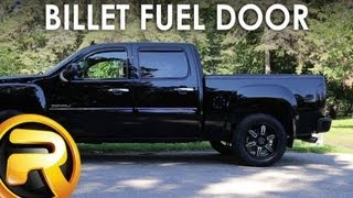 AMI Billet Fuel Door - Fast Facts