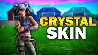Crystal Skin gameplay In Fortnite battle royale