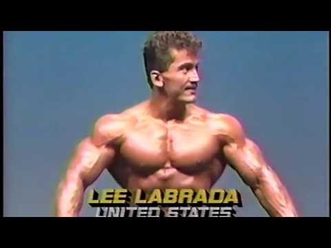 Lee Labrada 1985 Mr. Universe