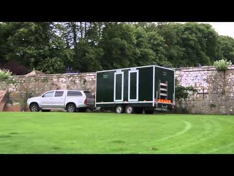 Temporary Luxury Toilet Hire
