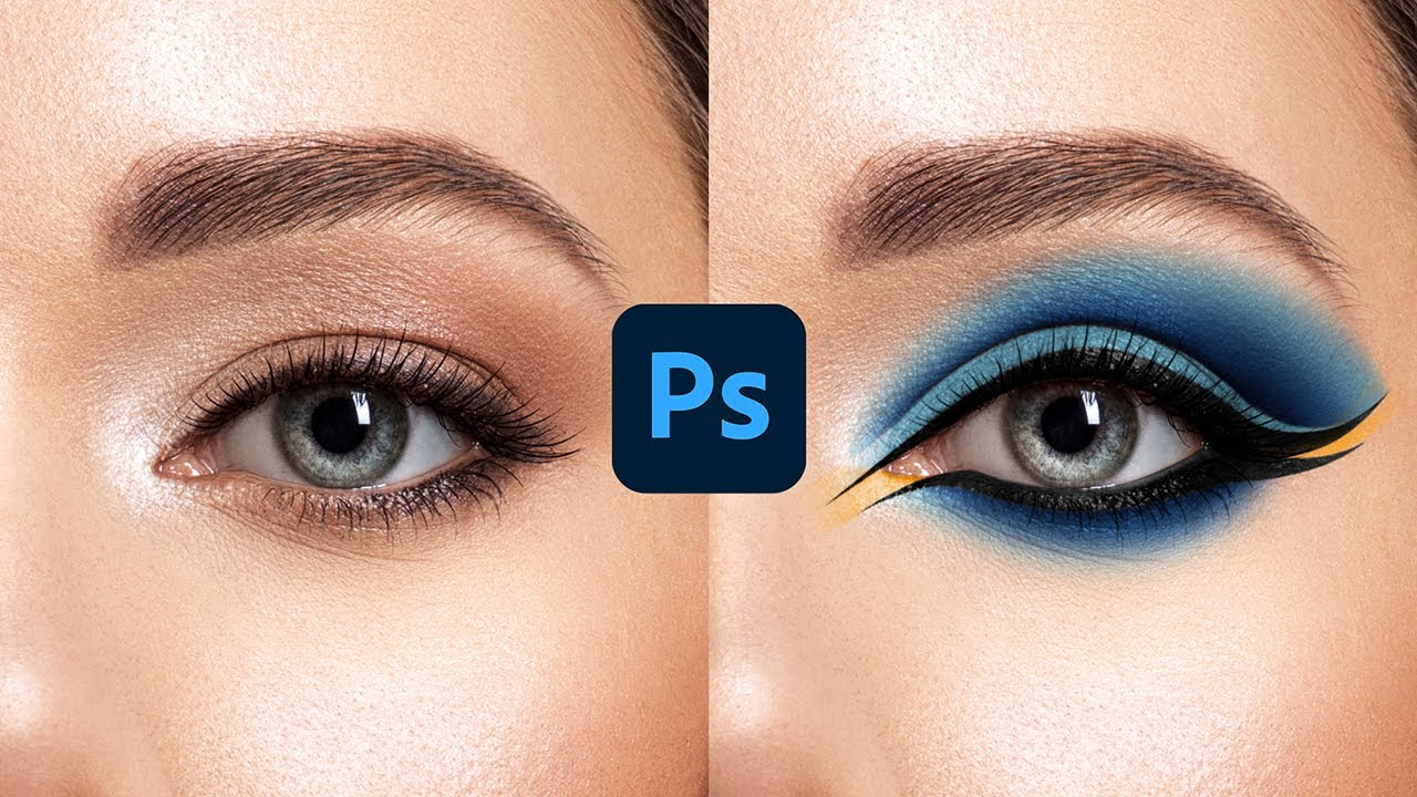 How to Apply Beautiful Eye Makeup in Photoshop