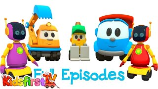 Leo the Truck Full Episode 14. Baby cartoon with cars.
