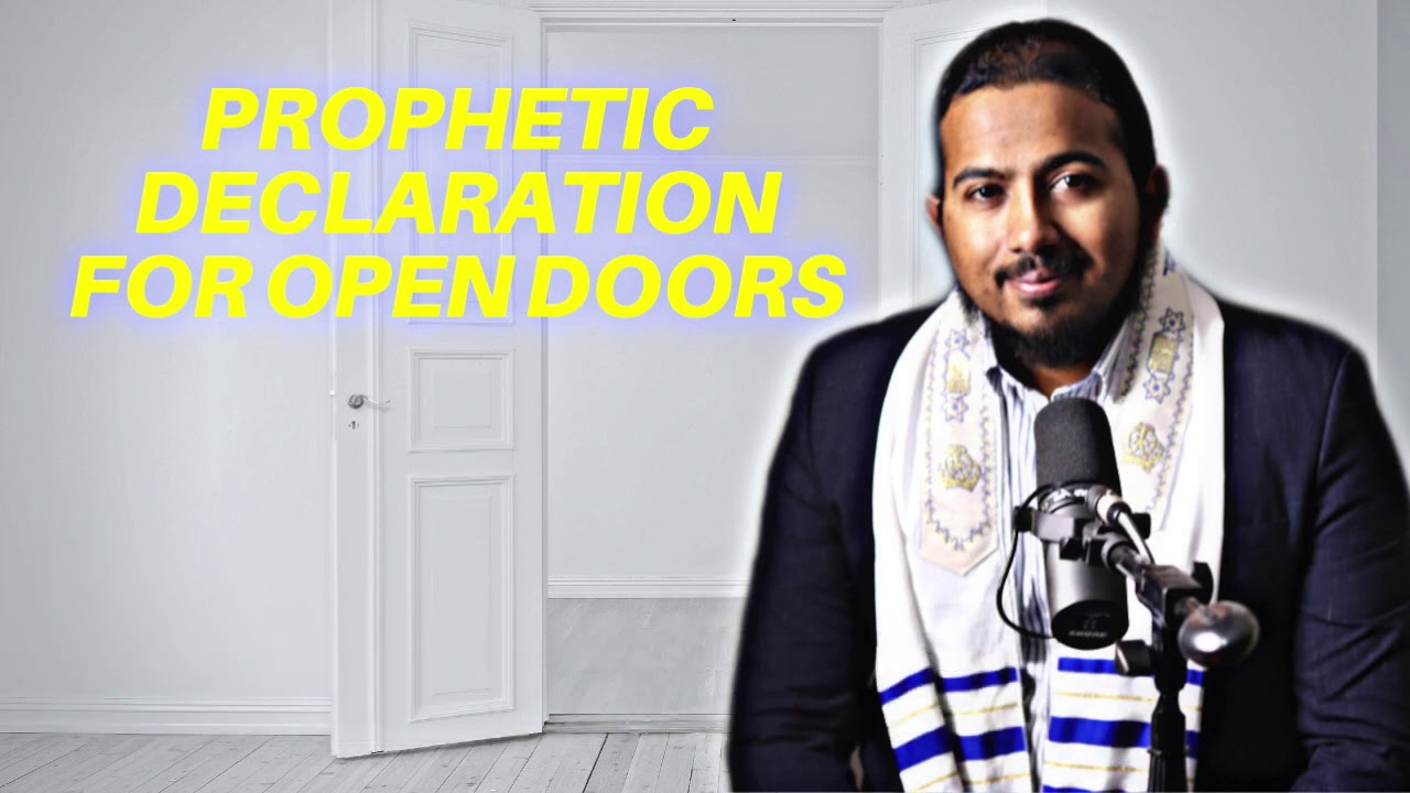 PROPHETIC DECLARATIONS FOR OPEN DOORS & FAVOUR BY EVANGELIST GABRIEL FERNANDES