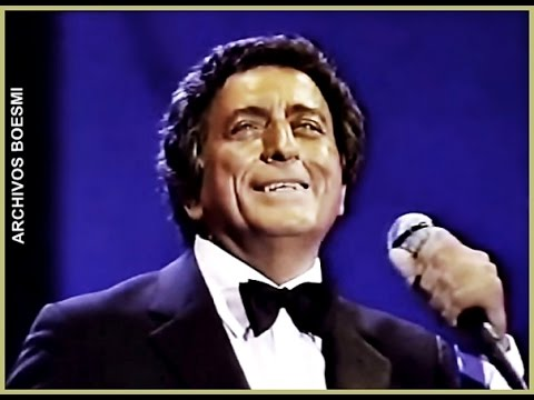 TONY BENNETT SINGS LIVE - I GOT LOST IN HIS ARMS (IRVING BERLIN) - 1987
