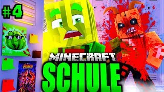 NACHSITZEN um 03:00 UHR NACHTS?! - Minecraft SCHULE #04 [Deutsch/HD]