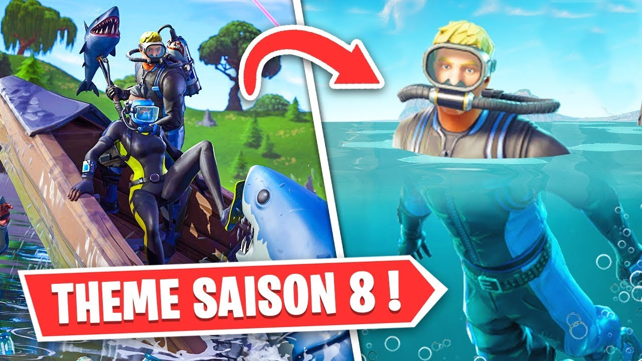 Voici Le Theme De La Saison 8 De Fortnite Youtube