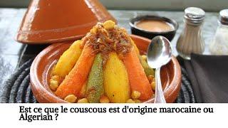 La Folie Du Couscous  - Recette du couscous Marocain