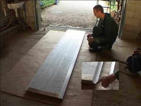 Montagem de porta de garagem seccionada 1 2 youtube for Comment monter une porte de garage sectionnelle