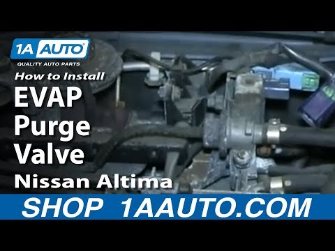 How To Replace EVAP Purge Valve 96-00 Nissan Altima
