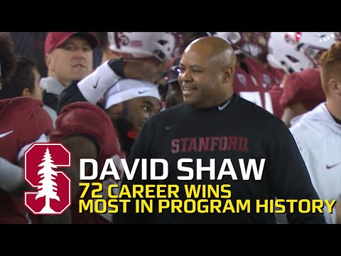 Highlight: David Shaw becomes winningest head coach in Stanford history