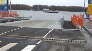 Открылась новая переправа через р.Ока!