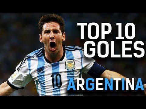 LOS MEJORES GOLES DE MESSI con Argentina!! ? Video Emotivo!!